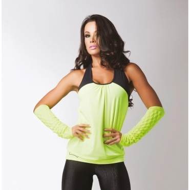 'Jolie' 2 in 1 Ladies Fitness Top 5 Colours