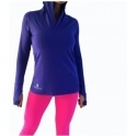 Klein Blue 'FitFam' Hooded Sports Top With Co2 Control
