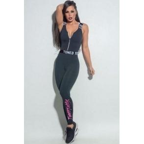 'La Divina'' Fitness Jumpsuit / Catsuit