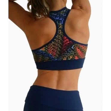 Ladies 'Flaunt it' Sports Fashion Bra Top 4 Colours