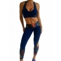 Ladies 'Flaunt it' Sports Fashion Bra Top 4 Colours