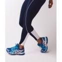 Ladies Navy 'Va Va Voom' Luxury Fitness Leggings