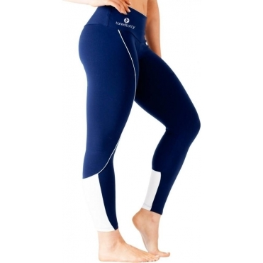 Ladies Navy 'Va Va Voom' Luxury Fitness Leggings
