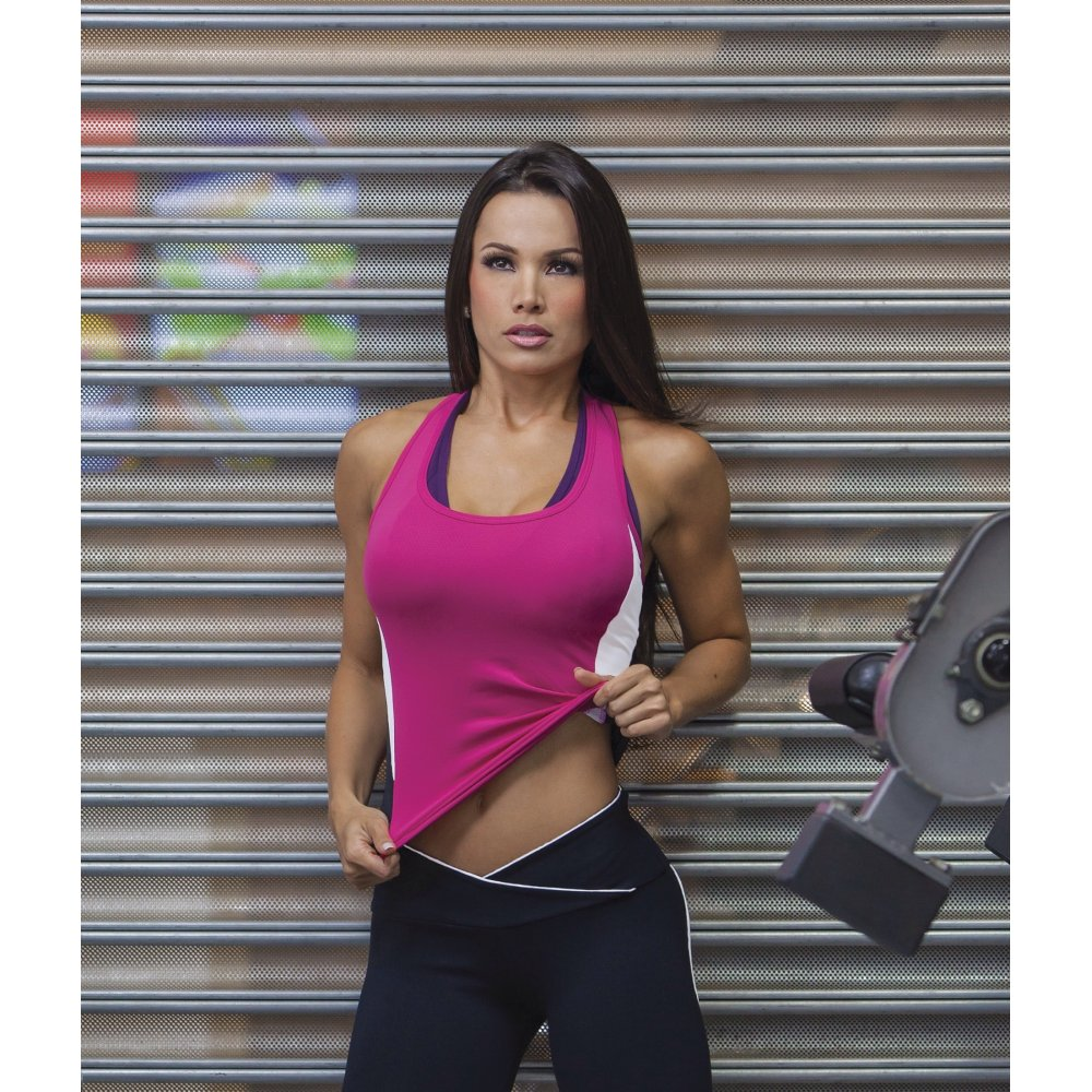 Petite womens lightweight sports top activewear uk for Lady fitness