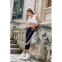 'Lady Like' Supplex Fitness Capri Leggings