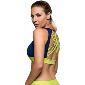 'Lap Of Luxury' Cross Back Light Sports Bra Top