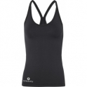 LAST ONE! Longer Length 'Lavish' Fitness Top Black