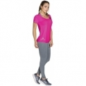 LAST ONE! Pink Short Sleeve Sports Fitness Top