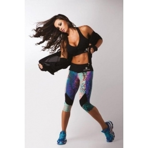 "LAST ONE! Wonder BumTum ""Street"" Supplex Gym Leggings"