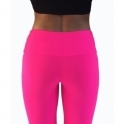 LAST PAIR! 'La-Di-Da' Supplex Pink Fitness Leggings