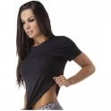 Lightweight Black 'Cool Down' Fitness T-Shirt