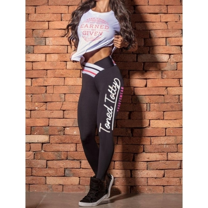 Limited Edition 'Dollybird' Luxury Fitness Gym Leggings