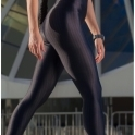 'Little Miss' Fitness Jumpsuit / Catsuit
