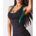 Longline 'Hourglass' Running Fitness Top 2 Colours