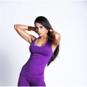 'Love Heart' Purple Pizazz/Coral Fitness Top SOLD OUT!!