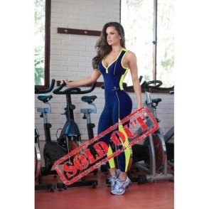 'Lunges 'N' Lipgloss' Fitness Jumpsuit