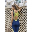 'Lunges 'N' Lipgloss Reborn' All-In-One Fitness Jumpsuit