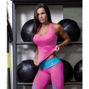 Lycra Sport 'Candy' Fitness Vest Top