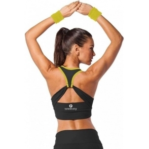 'Maybe Baby' Cross Back Sports Bra Top