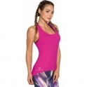 'Meet Me At Sunset' Pink Fitness Vest Top