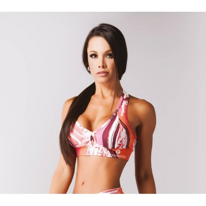 'Million Dollar' Cross Back Sports Bra Top
