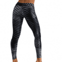 'On A Mission' Waxed Fitness Leggings