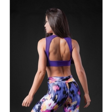 Open Back 'Dolly' Sports Bra