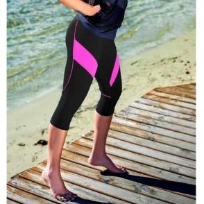 'Pink A Boo' Supplex Capri Fitness Leggings