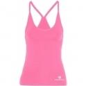 Pink 'Lavish' Fitness Tank Top Longer Length