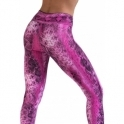'Pink Snake' Women's Fitness Gym Leggings