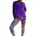 Purple Pizazz 'Lazy Days 2' Longsleeve Sports Fitness Top SOLD OUT!