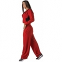 Red 'It Girl' Dry Sports Fitness Pant Petite