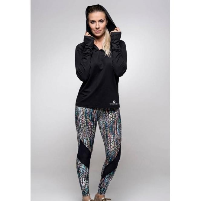'Sereia' Supplex Compression Luxury Fitness Leggings