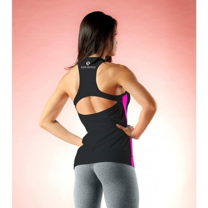 Sexy 'Roulette' Sports Fitness Vest Top