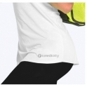 Short Sleeve White Sports Fitness Top