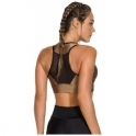 'Skyfall' Bronze/Gold Sports Bra Top