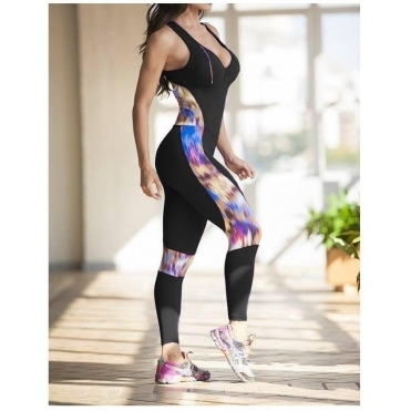 SOLD OUT!! 'Express Yourself' All-In-One Fitness Light Jumpsuit