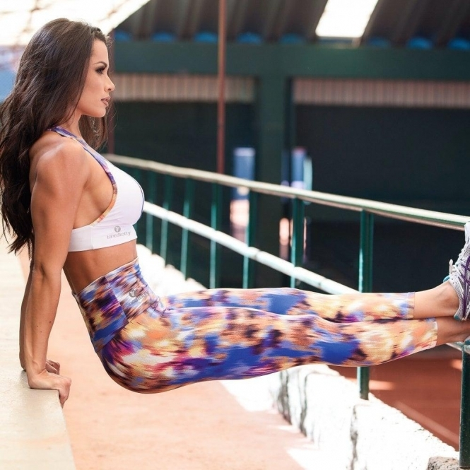 SOLD OUT! 'Game Player' High Waisted Light Fitness Leggings