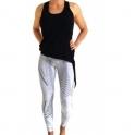 SOLD OUT. 'Montana' Luxury White Fashion Leggings