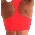 SOLD OUT! Neon Coral Supplex Padded Sports Bra