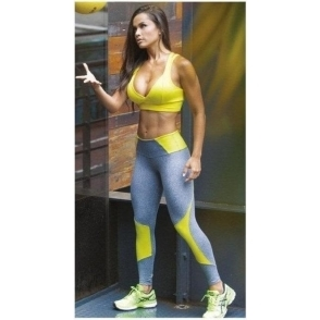 SOLD OUT! 'On Fire' Luxury Brazilian Supplex Fitness Leggings