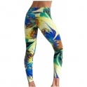 SOLD OUT! 'Retreat 2' Print Supplex Gym / Yoga Pants