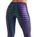 SOLD OUT! 'Rockstar' Waxed Print Fitness Leggings