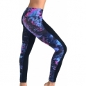 "SOLD OUT! ""Unico' Backwards Marble Print Fitness Leggings"