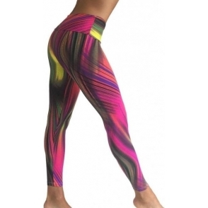 SOLD OUT! 'Upbeat' Funky Sports Lycra Fitness Leggings
