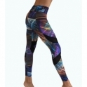 SOLD OUT!  'Urban Jungle' Light Supplex Print Gym Leggings