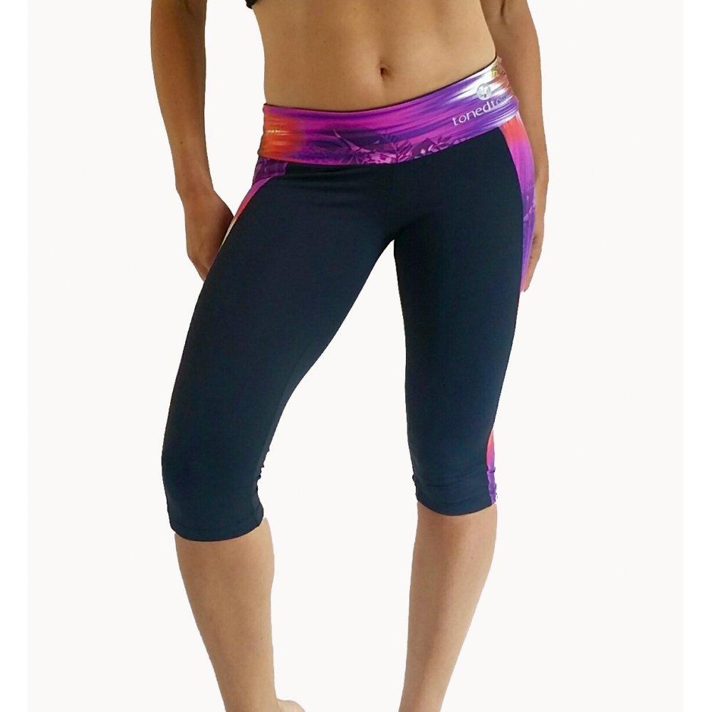 ladies gym 3 4 legging brazilian sport lycra. Black Bedroom Furniture Sets. Home Design Ideas