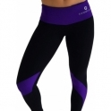'Street Dance' Supplex Black Fitness Leggings