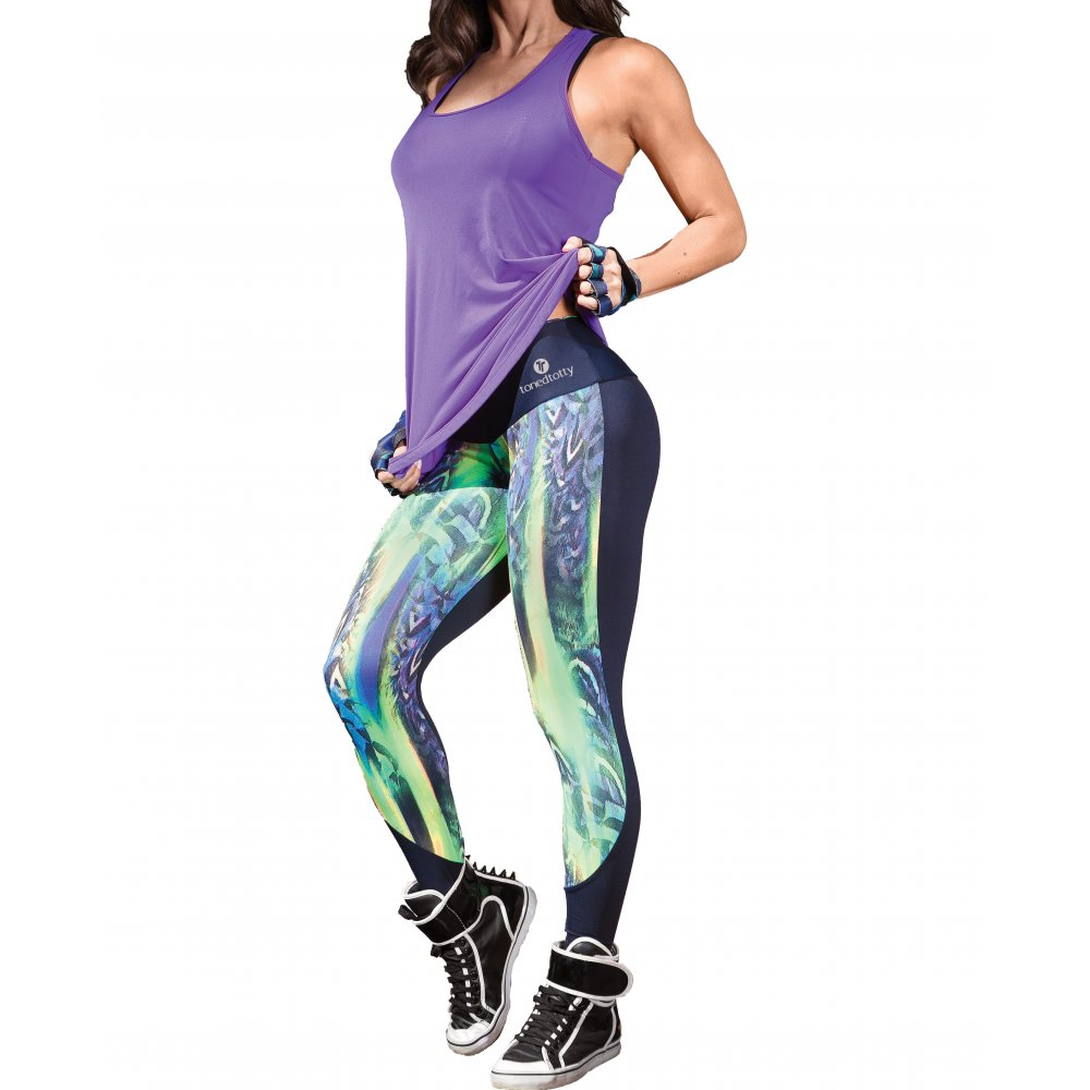 Ladies pretty light supplex lycra running tights fitness for Lady fitness