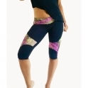 "Toned Totty ""Wild Thing"" Gym Capri Leggings"
